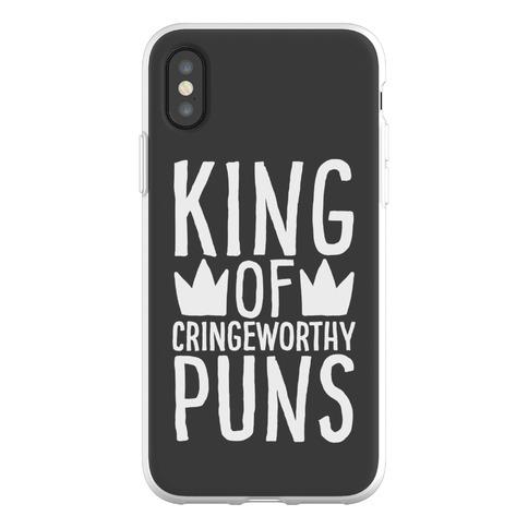 King of Cringeworthy Jokes Phone Flexi-Case