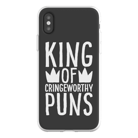 King of Cringeworthy Jokes Phone Flexi-Case