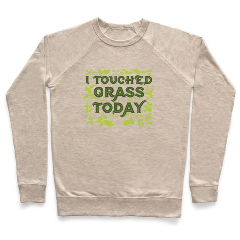 I Touched Grass Today Pullover