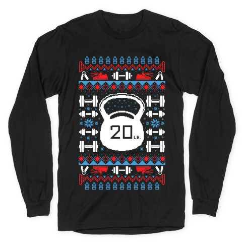 Ugly Fitness Sweater Long Sleeve T-Shirt