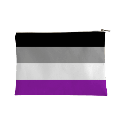 Asexual Pride Flag Accessory Bag