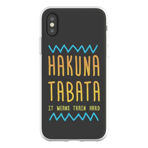 Hakuna Tabata Phone Flexi-Case