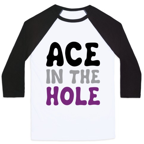 Ace In The Hole Baseball Tee