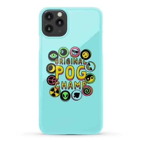 Original POG Champ Phone Case