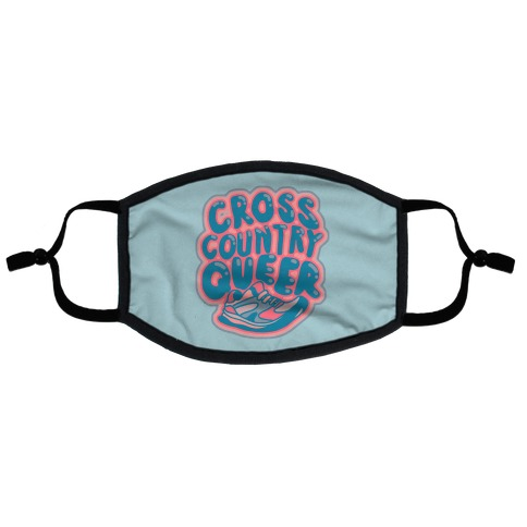 Cross Country Queer Flat Face Mask