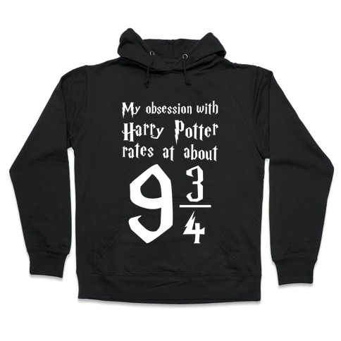 Harry Potter Obsession Hooded Sweatshirt