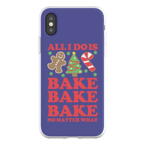 All I Do is Bake Phone Flexi-Case