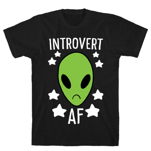 Introvert AF Mens T-Shirt