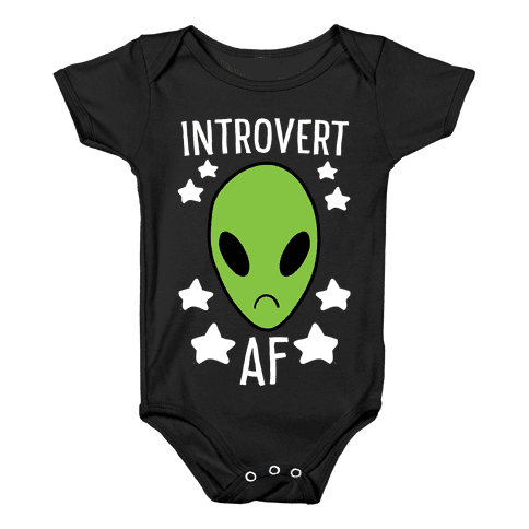 Introvert AF Baby Onesy