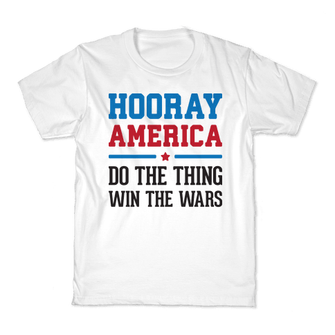 Hooray America Kids T-Shirt