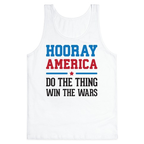 Hooray America Tank Top