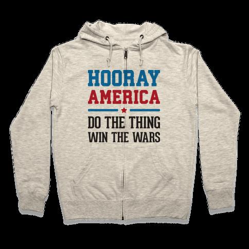 Hooray America Zip Hoodie