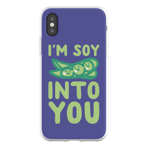 I'm Soy Into You Parody Phone Flexi-Case
