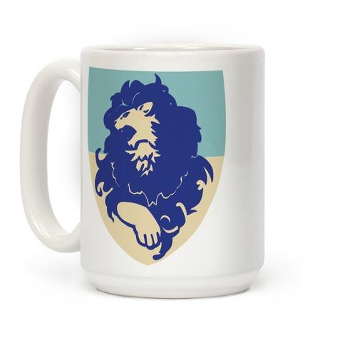 Blue Lion Crest - Fire Emblem Coffee Mug