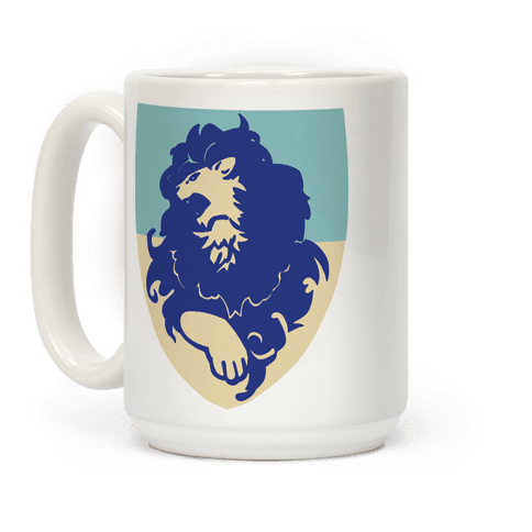 Blue Lion Crest - Fire Emblem Coffee Mug