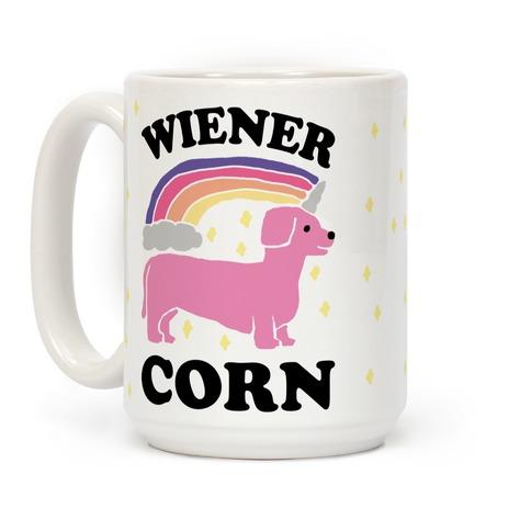 Wienercorn Dachshund Unicorn Coffee Mug