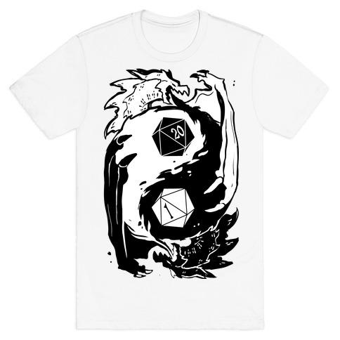 Dungeons and Dragons Yin Yang T-Shirt