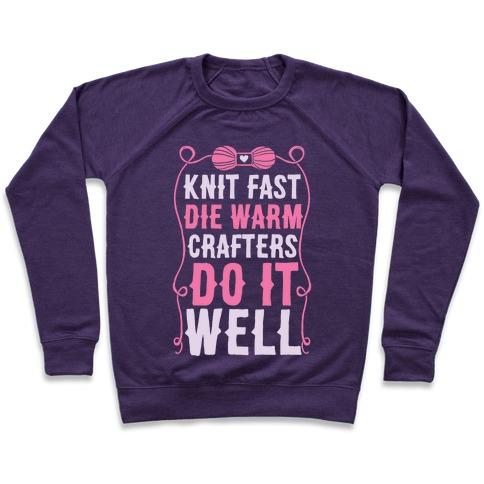 Knit Fast, Die Warm Pullover