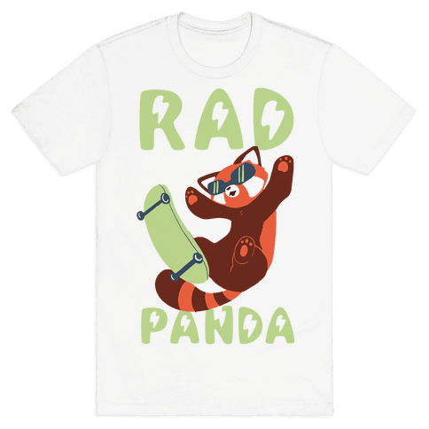 Rad Panda - Red Panda Mens T-Shirt