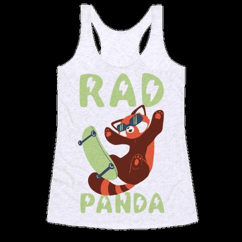 Rad Panda - Red Panda Racerback Tank Top