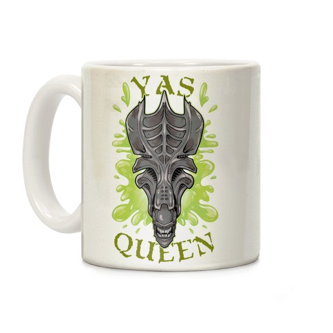 Yas Queen Xenomorph Coffee Mug