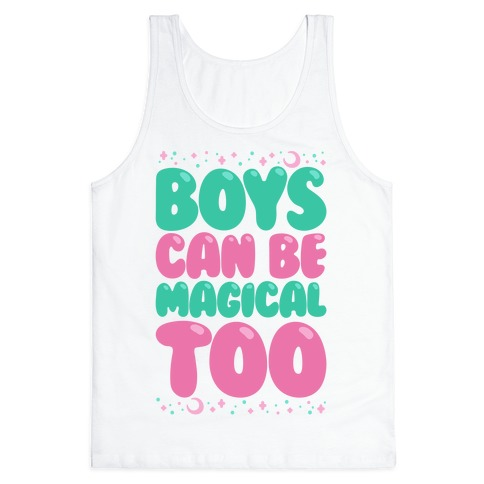 Boys Can Be Magical Too Tank Top