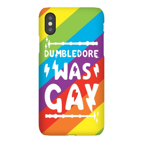 Dumbledore Was Gay Phone Case