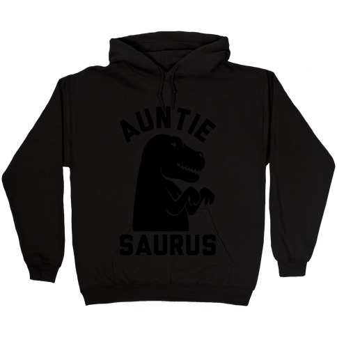 Auntie Saurus Hooded Sweatshirt