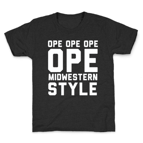 Ope Midwestern Style Kids T-Shirt