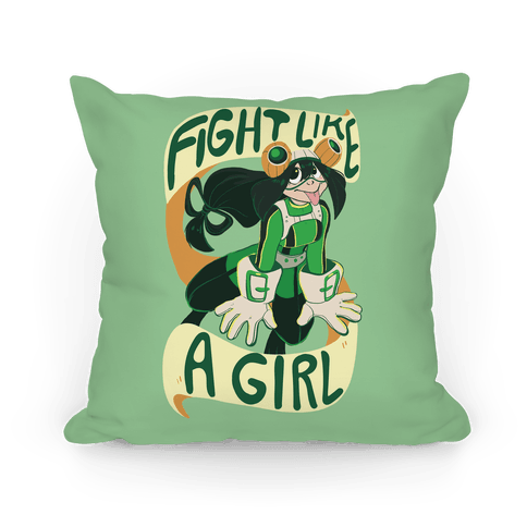 Fight Like a Girl Pillow