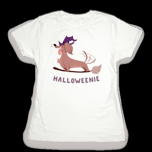A Halloweenie!  Womens T-Shirt