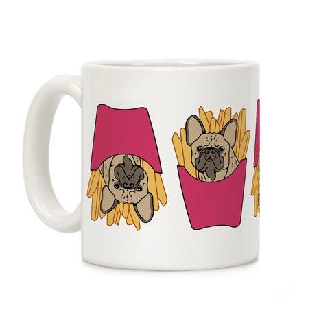 French Fry French Bulldog Coffee Mug