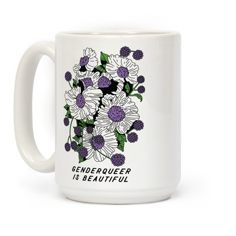 Genderqueer is Beautiful Coffee Mug