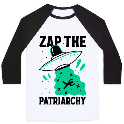Zap the Patriarchy Baseball Tee