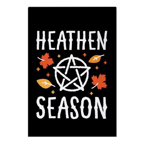 Heathen Season Garden Flag