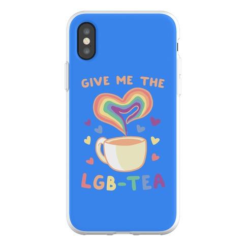 Give Me the LGBTea Phone Flexi-Case