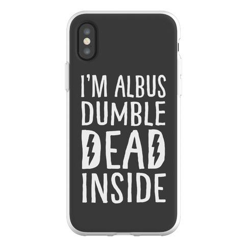 I'm Albus Dumble Dead Inside Phone Flexi-Case