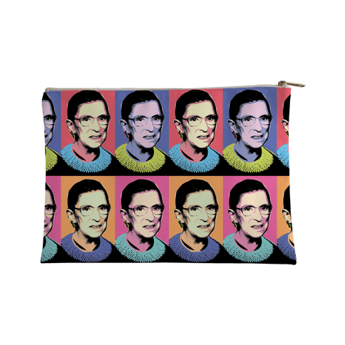 RBG Pop Art Accessory Bag