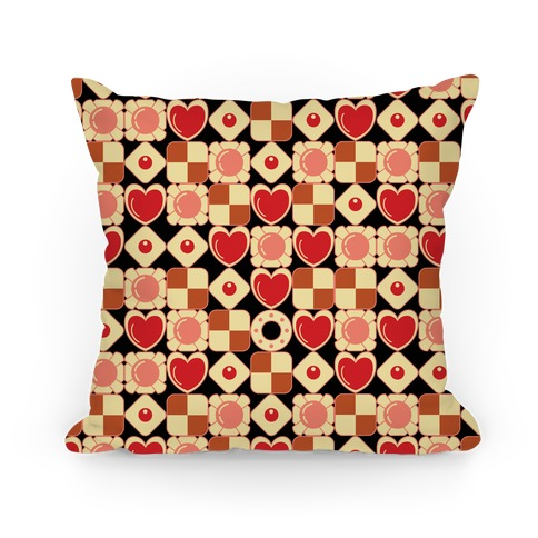 Gamer Cookies Pattern Pillow