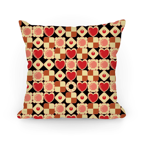 Gamer Cookies Pattern Pillow