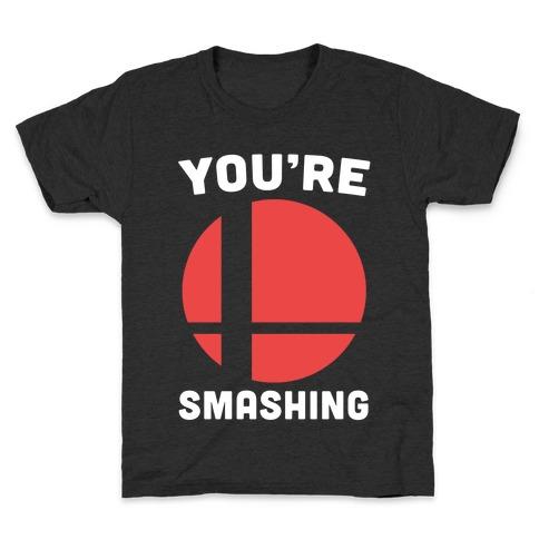 You're Smashing - Super Smash Brothers Kids T-Shirt