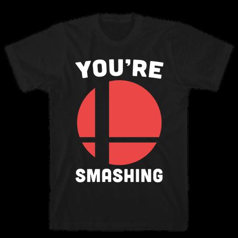 You're Smashing - Super Smash Brothers Mens T-Shirt