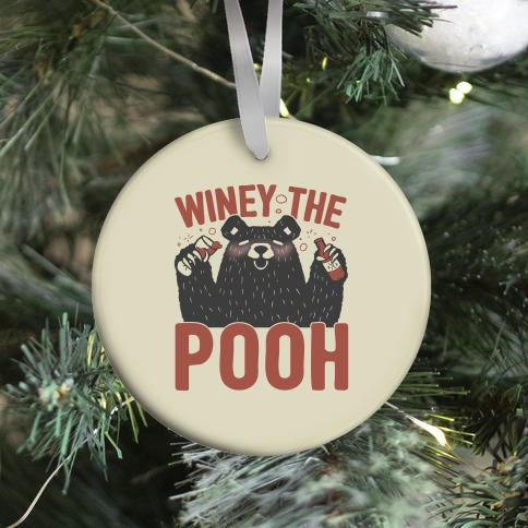 Winey The Pooh Ornament
