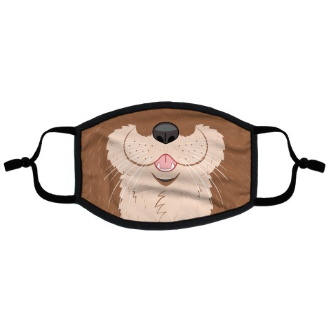 Otter Mouth Flat Face Mask