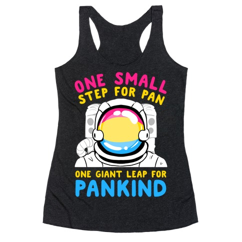 One Small Step For Pan, One Giant Leap For Pankind Racerback Tank Top