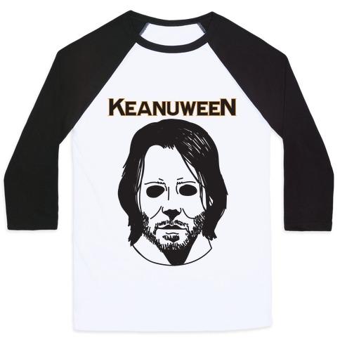 Keanuween - Keanu Halloween Baseball Tee