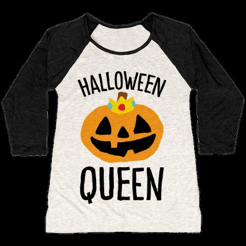 Halloween Queen Baseball Tee