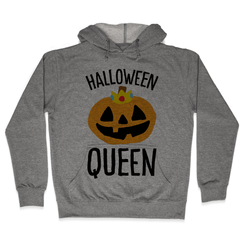 Halloween Queen Hooded Sweatshirt