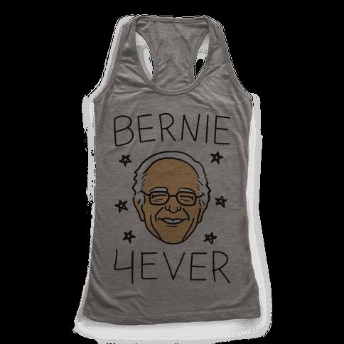 Bernie 4ever Racerback Tank Top