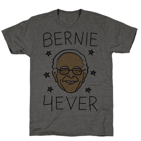 Bernie 4ever Mens T-Shirt